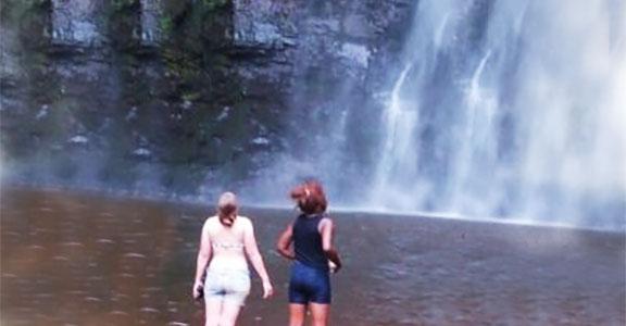 At Waterfalls