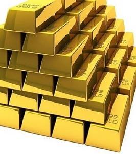 Picture of gold bars